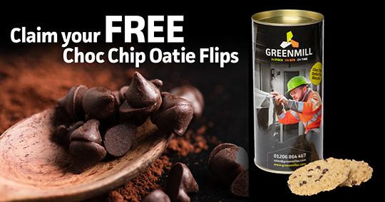Choc Chip Oatie Flips