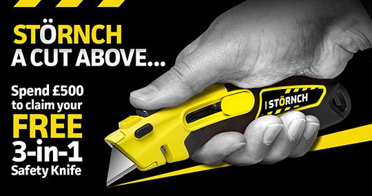 STÖRNCH 3-in-1 Safety Knife